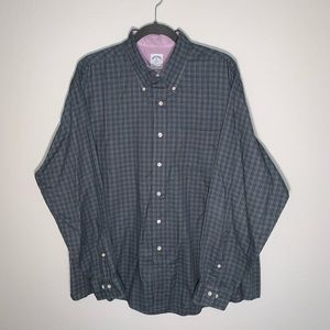 Brooks Brothers 346 men's plaid button down